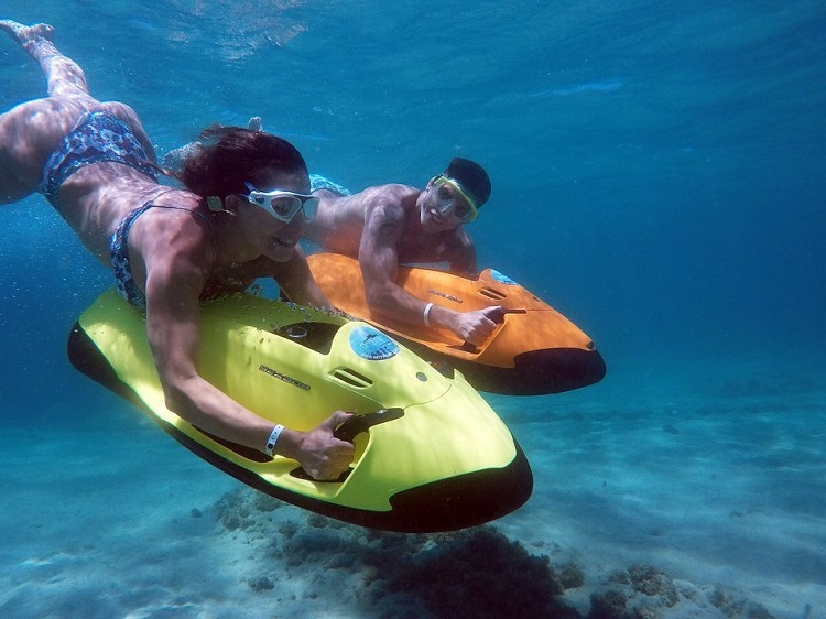 melhor maré para mergulho